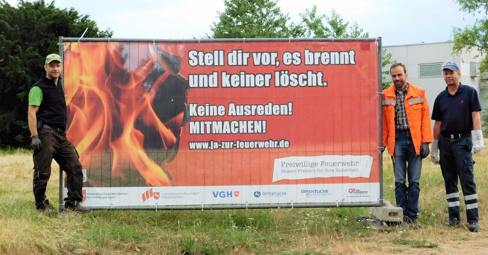 WERBUNG - Stell dir vor, es brennt und keiner löscht!